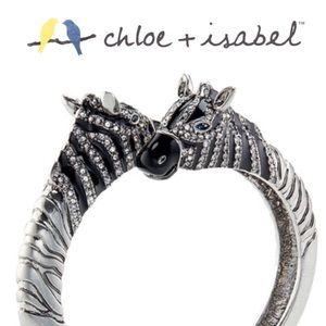 🆕 🦓 Serengeti Hinged Zebra Bracelet c+i B401BLAR